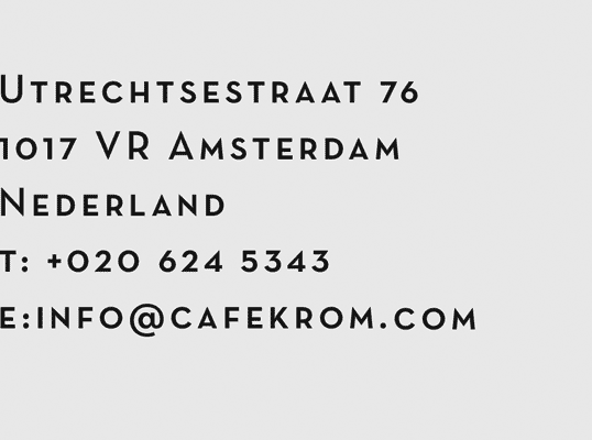 Contact Cafekrom